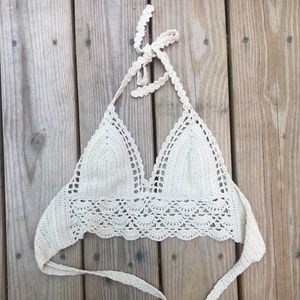 Crochet Bralette Top